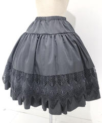 Sheglit/シェグリット Cynthiaレーススカート(ブラック)