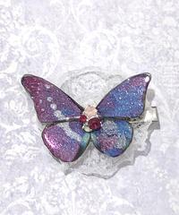 GOTHIC HOLIC/ゴシックホリック 舞い踊る蝶々クリップ(小)紫陽花