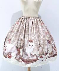 Enchantlic EnchantilIy/アンシャンテリックアンシャンテリー Queen Cat~秘密の書斎~スカート(生成)