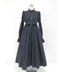 Sheglit/いばら姫フリルワンピース(ブラック)