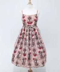 Enchantlic EnchantilIy/アンシャンテリックアンシャンテリー  王女様のヴァイオリンジャンパースカート〈マカロンピンク〉