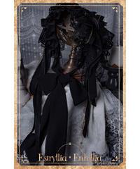 Estryllia Enhillia/♦︎受注ご予約♦︎「宿命❖挽歌」ヘッドドレスヘッドドレス(ピーコック)