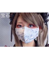 Triple* fortune /オリジナルプリントマスク(宝石)