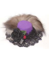 GOTHIC HOLIC/しっぽミニハット(紫)