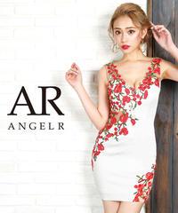 [カラーフラワー刺繍デザインタイトミニドレス]AngelR(エンジェルアール)|AR9829