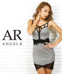 [ウエストフラワーレースタイトミニドレス]AngelR(エンジェルアール) AR20802