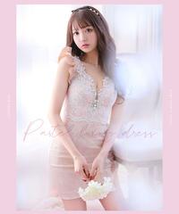 【XSサイズあり】Pastel luxury dress(fm2241)