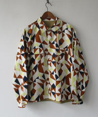 【SALE】2020-Fall/WINTER. Niche (ニッチ) Reversible Patterned Shirts Jacket / F20-igas-09