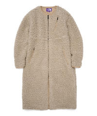 2020FW. THE NORTH FACE PURPLE LABEL Wool Boa Fleece Field Long Coat/NAW2050N/ボアフリース ロングコート