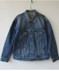 2020 Autumn  & Witer GOLD /ゴールド 14OZ DENIM  TRUCKER JACKET HARD WASED-GL14666H/デニム ジャケット