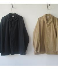 【SALE】2020 S S. GOLD(ゴールド) Cotton80 /Silk20 120/2 BROAD SNAP SHIRT /GL28295/ブロード シャツジャケット