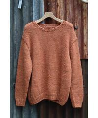 田口さんの手編みセーター