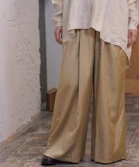suzuki takayuki/gatherd pantsⅡ/gold