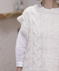 ikkuna/suzuki takayuki/knitt vest/213023K