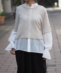 suzuki takayuki/knitted t-shirt/S201-06