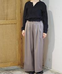 suzuki takayuki/gathered pants