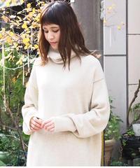 suzuki takayuki/long turttle-neck sweater/A202-17