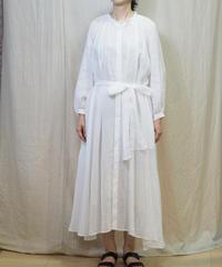suzuki takayuki/flared dress/nude/S201-24