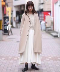 suzuki takayuki/tailored-collar coat/A201-22