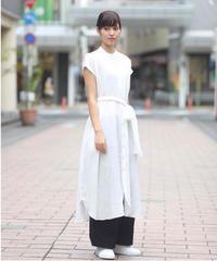 suzukitakayuki/sleeveless shirt dress/S201-18