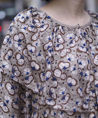 BUNON/Embroidery Jellyfish Blouse/BN7003