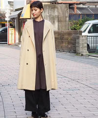 suzuki takayuki/no-collar coat/A201-21