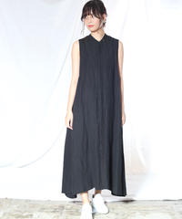 suzuki takayuk/sleeveless dress/black/S201-21