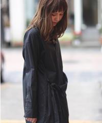 UNIVERSAL TISSU/タイプライター ラップシャツドレス/UT200OP019
