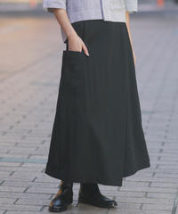 UNIVERSAL SEVEN/タスランギャバ ポケットスカート/US200SK017