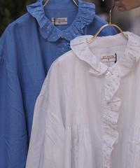 BUNON/Pintuck blouse/BN7019