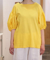 ikkuna suzuki takayui/puff-sleeve t-shirt/211015N