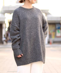 TISSU/英国羊毛 ユニセックスプルオーバー/SIZE3/TS183KN080