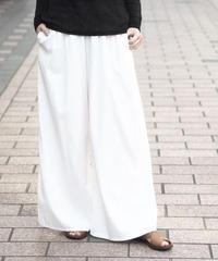 suzuki takayuki/gathered pants/S201-29