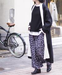 BUNON/Embroidery Tuck Pants/BN7005