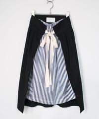 【time sale 6/25まで】ANITYA/wrap skirt(black)