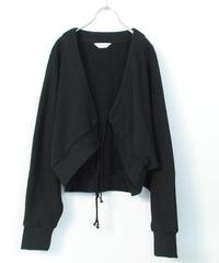 3tsui/スエットボレロ( black)