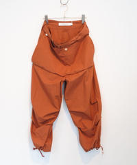ASEEDONCLOUD / bike trousers(brick)