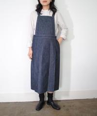 ASEEDONCLOUD・Handwerker/jumper skirt(denim)