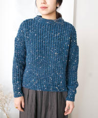 stone chocolate sweater(blue)
