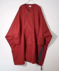 Hiroyuki Watanabe/レクタンゴーネームコート(red)