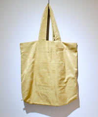 norouse/satijn  big tote bag(gray/yellow/red )
