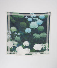 ASEEDONCLOUD/Handkerchief  ( ajisai)