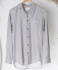 3tsui/かけ間違えシャツ( gray)