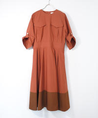 ASEEDONCLOUD /  Hunting dress(brick)
