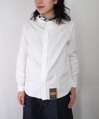 ASEEDONCLOUD・Handwerker/Collarless Shirt (white)