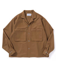 ANITYA/Open-necked Shirt(beige)