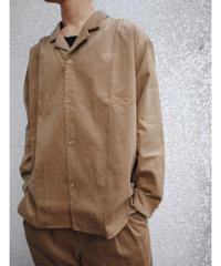 ASEEDONCLOUD/formal shirt(Formal Corduroy・beige)