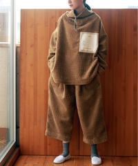 Hiroyuki Watanabe/nameボアプルオーバー(beige)