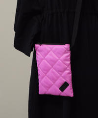 SACKVILLE/quilting sacoche(pink)