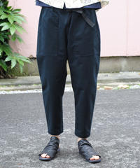 ASEEDONCLOUD  Handwerker/easy trousers (備前壱号・charcoal)